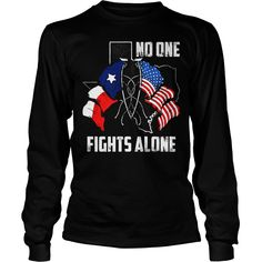 NO ONE FIGHTS ALONE T #gift #ideas #Popular #Everything #Videos #Shop #Animals #pets #Architecture #Art #Cars #motorcycles #Celebrities #DIY #crafts #Design #Education #Entertainment #Food #drink #Gardening #Geek #Hair #beauty #Health #fitness #History #Holidays #events #Home decor #Humor #Illustrations #posters #Kids #parenting #Men #Outdoors #Photography #Products #Quotes #Science #nature #Sports #Tattoos #Technology #Travel #Weddings #Women
