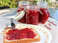 Strawberry Jam/Confiture de fraise مربى الفراولة Sousoukitchen http://youtu.be/OMtODKLI19U
