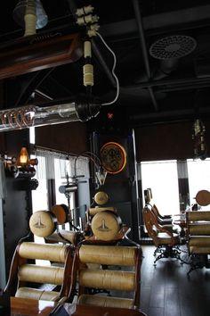 Steampunk Restaurant -…