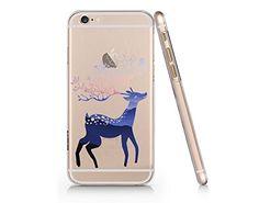 Cute Reindeer Slim Iphone 6 6S Case, Clear Iphone 6 6S Hard Cover Case For Apple Iphone 6/6S -Emerishop (NPT017.6sl) Emerishop