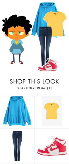 """""""Untitled #459"""" by totaltrashmammal ❤ liked on Polyvore featuring Monki, NIKE, Max and campcamp"""