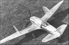 SAI-Ambrosini SS.4 (1939) was an Italian fighter prototype developed in the late 1930s, featuring a canard-style wing layout and a 'pusher' propeller. Development of the SS.4 was abandoned after the prototype crashed on its second flight.