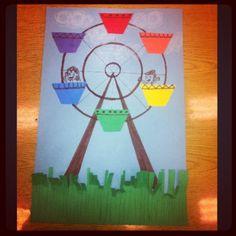 Kindergarten Color 'Ferris' Wheel
