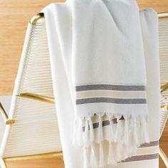 Fringed Spa Bath Sheet at ShopStyle