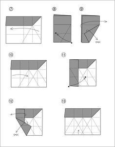 折り紙キャンディーボックスの折り方 : ニューヨークの田舎より Origami Box, Bar Chart, Origami Diagrams, Ornaments, Paper Envelopes, Packaging, Bar Graphs