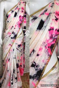 * saniya silk sibori saree Without Blouse   B at ₹761.  (PID: 103540) * saniya silk sibori saree Without Blouse  Note 👉 Dry wash लिबास Photograph लिबास PHOTOGRAPH | IN.PINTEREST.COM WHATSAPP EDUCRATSWEB