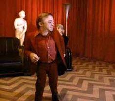 Twin Peaks dancing man