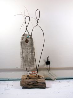 Bohemian Style Wire Sculpture Wedding Gift by idestudiet™ ©2013 All Rights Reserved