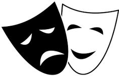 Image result for mask comedy tragedy