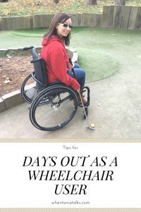 Most things are harder when you have a disability. I've shared my tips for days out as a wheelchair user to make going out that little bit easier. Life Is Like, What Is Life About, Manual Wheelchair, Wheelchair Accessories, Mobility Aids, Spinal Cord Injury, Disabled People, Crutches, Sport