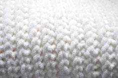 faux knit crochet baby blanket {free pattern}   Little Birdie Secrets