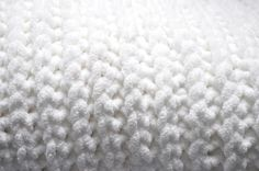 faux knit crochet baby blanket {free pattern}  This pattern is very basic and can be adapted to whatever size or yarn you want. The blanket could easily be made larger by adding more base chains to desired length. Also, you could use different yarn and hook size.