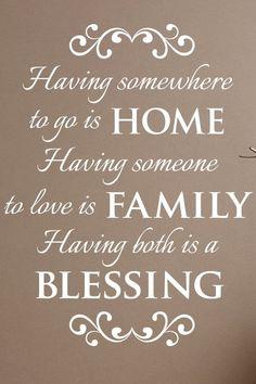 zo blij met mijn familie...