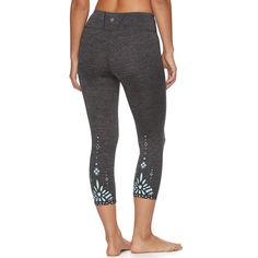 Women s Gaiam Om Renew Capri Yoga Leggings Capri Leggings 336842e520a
