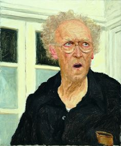 Avigdor Arikha: Self Portrait, 2001