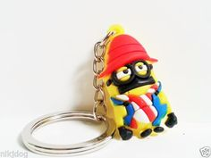 Despicable-Me-Minion-Keychain-Keyring-NEW-Lot-of-2