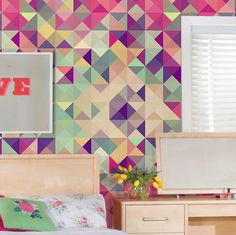 Papel de parede adesivo teens - StickDecor | Decoração Criativa