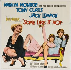 SOME LIKE IT HOT (1959) Marilyn is adorable I this one. A classic!