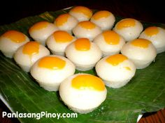 Buttered Puto is a variation of the famous steamed rice cake, Puto. This steamed mini cakes are usually eaten as dessert but most prefer to have them during breakfast(with hot coffee or chocolate) or mid-afternoon snack (usually eaten with dinuguan or blood stew). This Puto variation uses ordinary flour instead