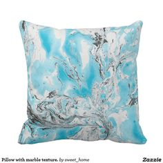 Pillow with marble texture. cushions