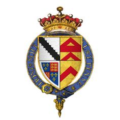 Arms of Henry Radclyffe, 2nd Earl of Sussex
