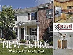 11040 Fergus St. NE, #Blaine, #MN. #NewListing #RealEstate www.BlaineHomeSource.com