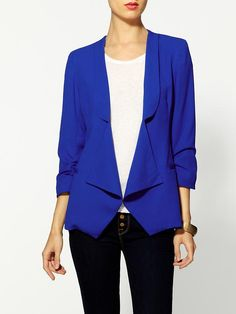 Royal blue  a must.