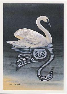 """The Swan"" - Sue Coleman, British Columbia, CA  www.suecoleman.ca"