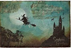 Hallowe'en mail art