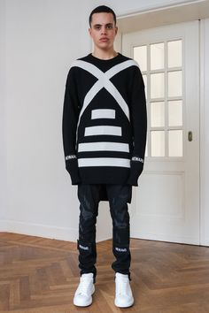 Lookbook FW17 - NEWAMS  #fashion #newams #lookbook #fw17 #streetwear #streetstyle #style #collection #offwhite #black #knitted