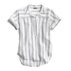 Stitch Fix Spring Stylist Picks: Casual striped popover shirt