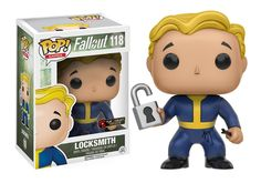 Locksmith Vault Boy - Vault Box Exclusive - Vault Boy Fallout - Vault Boy Funny - Fallout Funny - Fallout Bobbleheads - Fallout Gifts