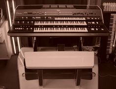 The Yamaha GX-1. My favorite synthesizer ever. So rare, I will probably never hear one in person.