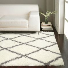 nuloom handmade flatweave diamond chain cotton fringe grey rug (5