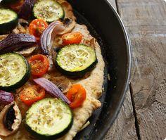 Selbstgemachter Pizzateig, vegan   The Vegetarian Diaries