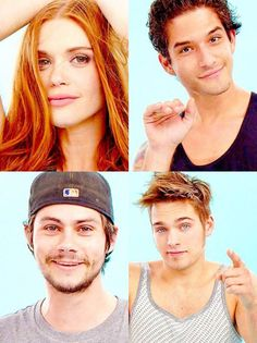 Holland Roden • Tyler Posey • Dylan O´Brien • Dylan Sprayberry