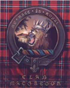 """items for sale about Clan Macgregor  