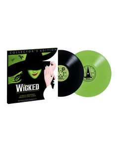 This Collector's Edition Vinyl features the original Broadway cast recording on a swankified double LP. Open it up to see the pop up map of OZ, and custom dust covers with the lyrics of all the songs. Secure your copy today – an OzDust Boutique exclusive.  www.wickedthemusicalstore.com