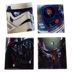 Star Wars Glass Coasters Set