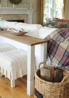 die besten 25 tisch hinter couch ideen auf pinterest hinter couch wohnung sofa und kleine. Black Bedroom Furniture Sets. Home Design Ideas