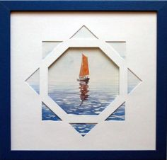 par Catherine BRUN Octogone et triangles. Picture Frame Decor, Hanging Picture Frames, Cadre Design, Triangles, Art Projects, Projects To Try, Gallery Wall Frames, Triangle Wall, Mountain Paintings