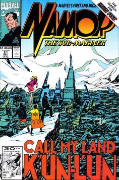 Namor, The Sub-Mariner # 21 by John Byrne