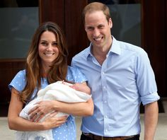 On July 22, 2013, Prince George Alexander Louis of Cambridge is born. He is the third in line to inherit the British throne after his grandfather Prince Charles and his father, Prince William.