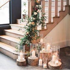 Floral stairway Für uns evtl auf Beton                                                                                                                                                      More