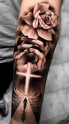 Hand Tattoos for Guys A Cross . Hand Tattoos for Guys A Cross . Celtic Tattoos for Men Hand Tattoos, Forarm Tattoos, Forearm Sleeve Tattoos, Best Sleeve Tattoos, Sleeve Tattoos For Women, Tattoo Sleeve Designs, Tattoo Designs Men, Body Art Tattoos, Tattoos For Guys