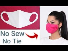 Easy Sewing Patterns, Easy Sewing Projects, Sewing Hacks, Sewing Tutorials, Easy Face Masks, Diy Face Mask, Irish Chain Quilt, Invisible Stitch, Crochet Mask