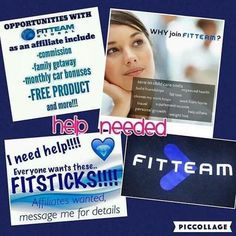 Work from ANYWHERE!! Set your own hours!!! Make money!!! All while getting healthy yourself!!! Get started NOW!!! www.fitteam.com/nicolette