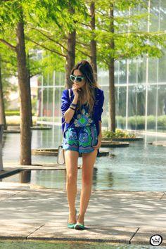 FashionCoolture - 03.05.2014 look du jour Dallas printed suit blue jacket (7)