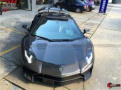 2012-2015 Lamborghini Aventador LP700 Full Carbon Fiber SV Style LP750 Body Kit