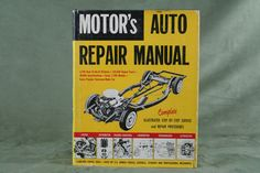 Vintage Motor's Auto Repair Manual 1966, 29th Edition - Ford, Chevrolet, Dodge - SOLD